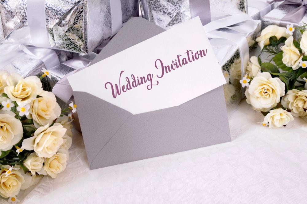 Всичко започва със сватбените покани