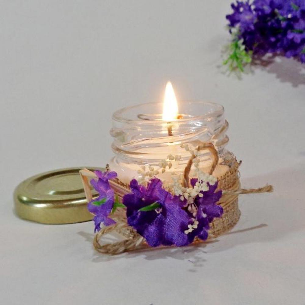 Свещи като подаръчета за сватба