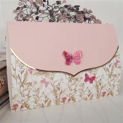 Покани за сватба с пеперуди
