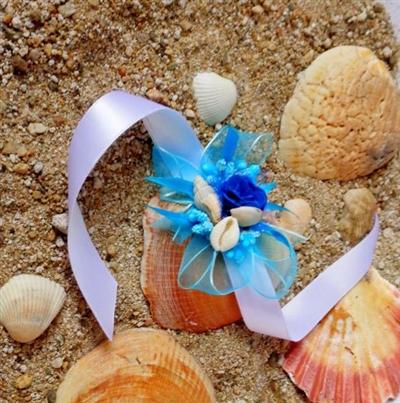 Сватбена гривна с морски мотиви