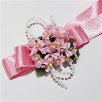 Сватбени гривни в розово