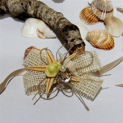 Сватбени гривни от зебло с морски мотиви