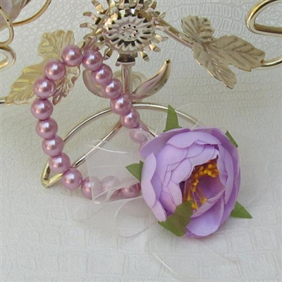 Сватбени гривни с перли