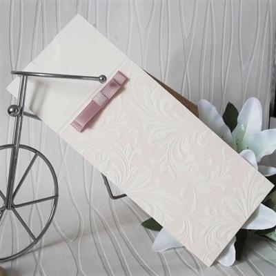 Сватбени покани с релеф по картона