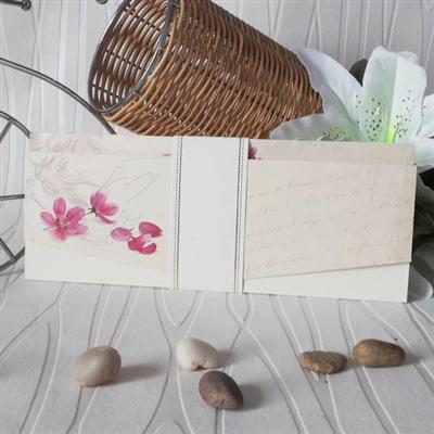 Сватбени покани с цветя