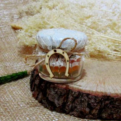 Бурканче с шарена сол