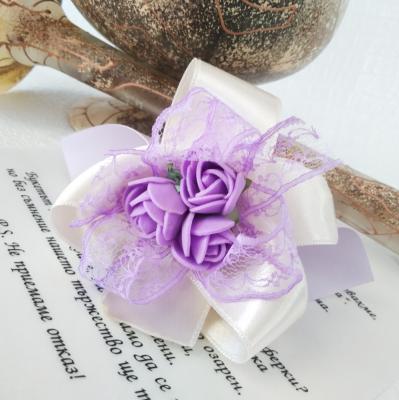 Сватбени покани - папируси в лилаво