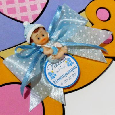 Подаръци за кръщене - Магнитче Бебе