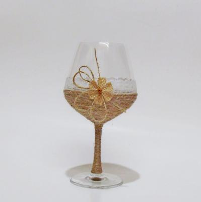 Сватбен бокал с канап