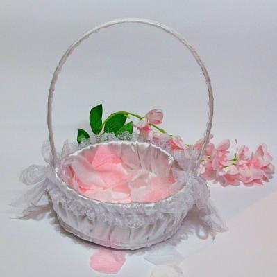 Кошничка за розови листенца