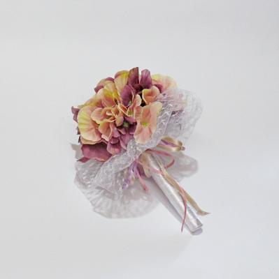 Сватбен букет от хортензии